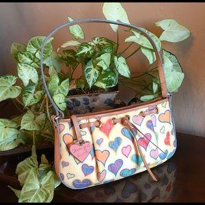 DOONEY & BOURKE hearts shoulder bag